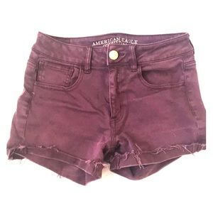 American Easgle stretchy shorts